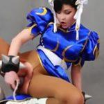 Cosplay Chun Li porno !