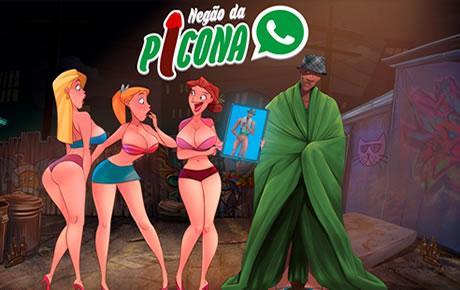 Conhecendo o Negão da Picona do WhatsApp !